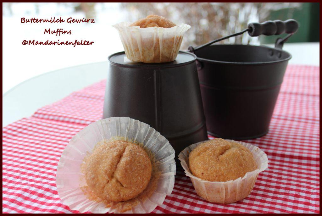 Buttermilch Gewürz Muffins