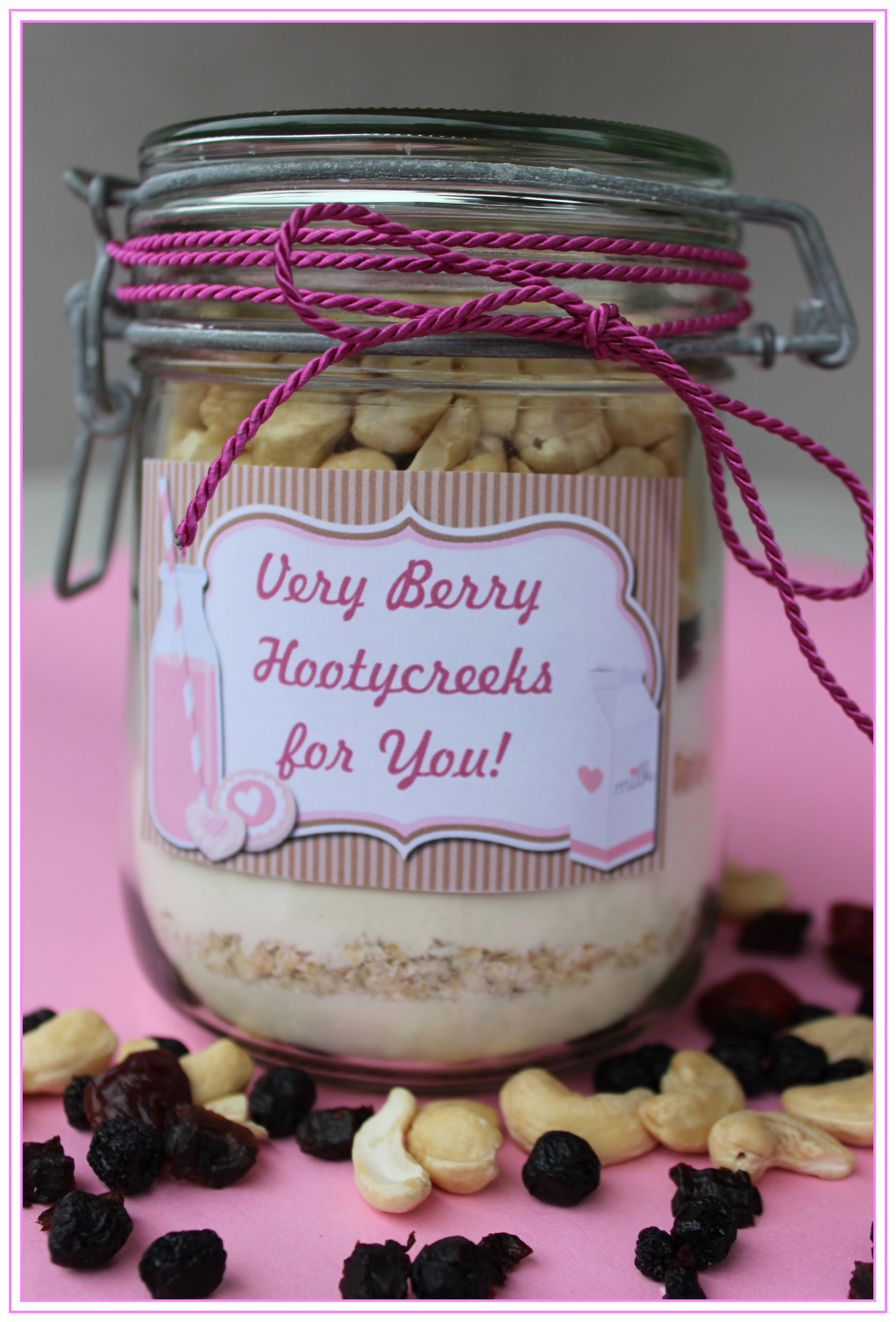 Geschenke Aus Dem Glas 2 Cookies Very Berry Hootycreeks Kuchen Im Glas Chocolateandonions