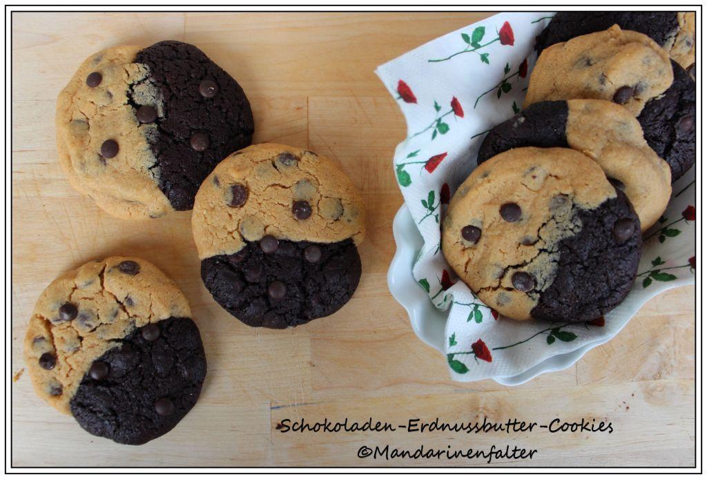 Schokoladen-Erdnussbutter-Cookies