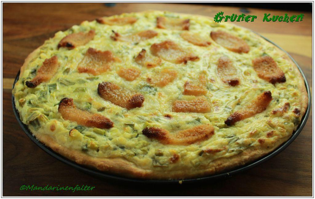 Grüner Kuchen