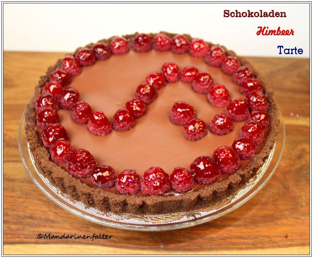 Schoko-Himbeer-Tarte I
