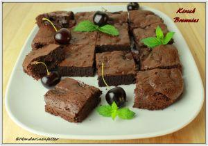 Kirsch Brownies