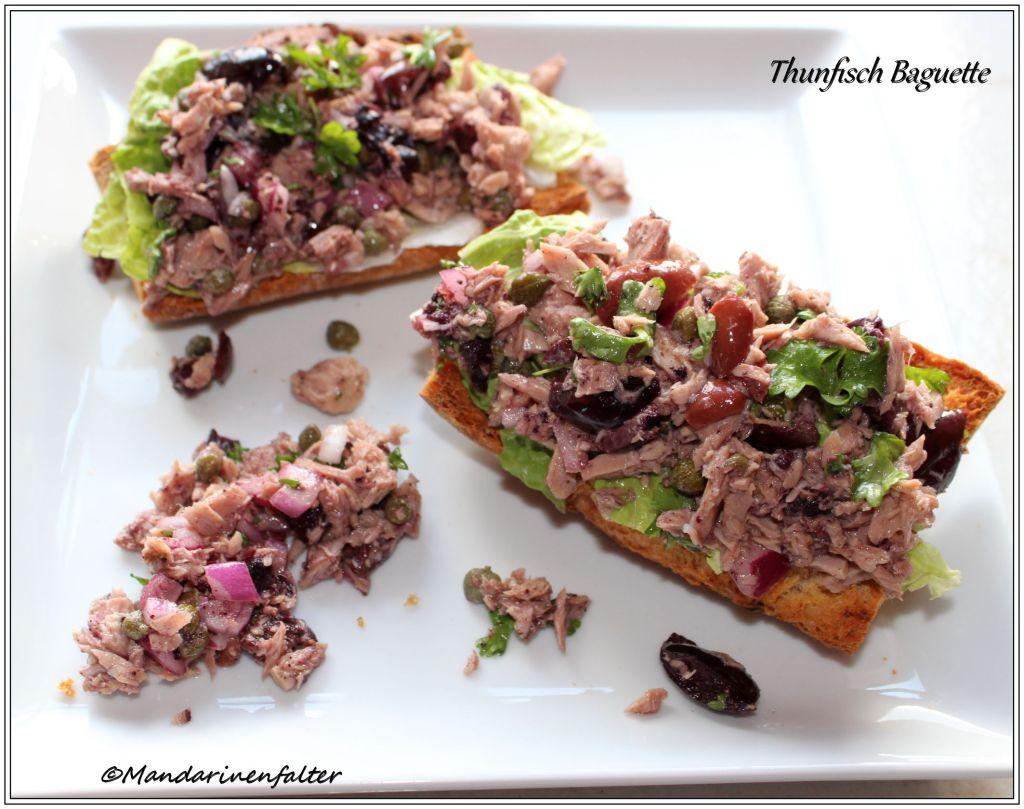 Thunfisch Baguette