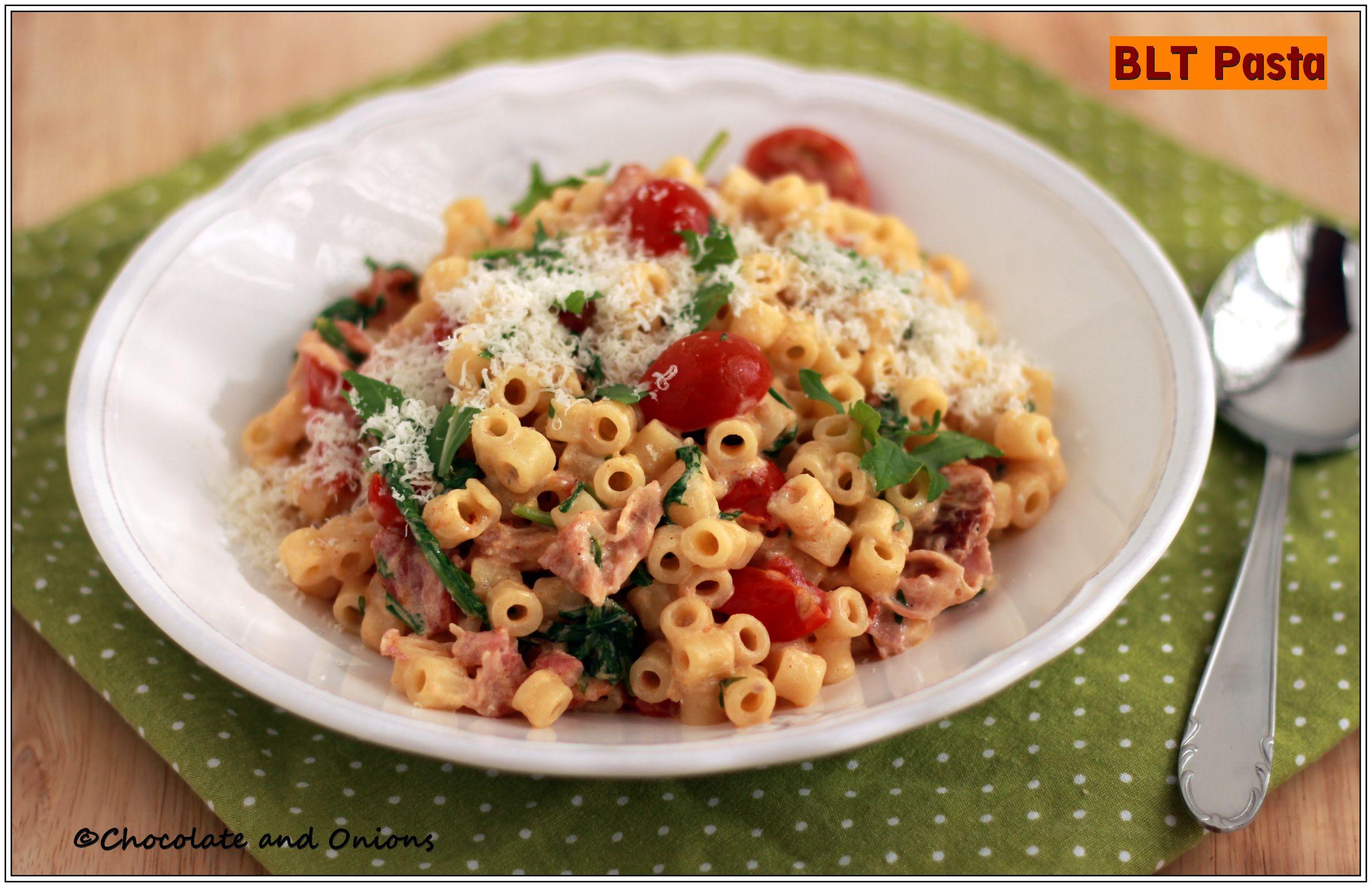 Ranch BLT Pasta Salad | Recipe | Pasta Salad, Pasta and Salads