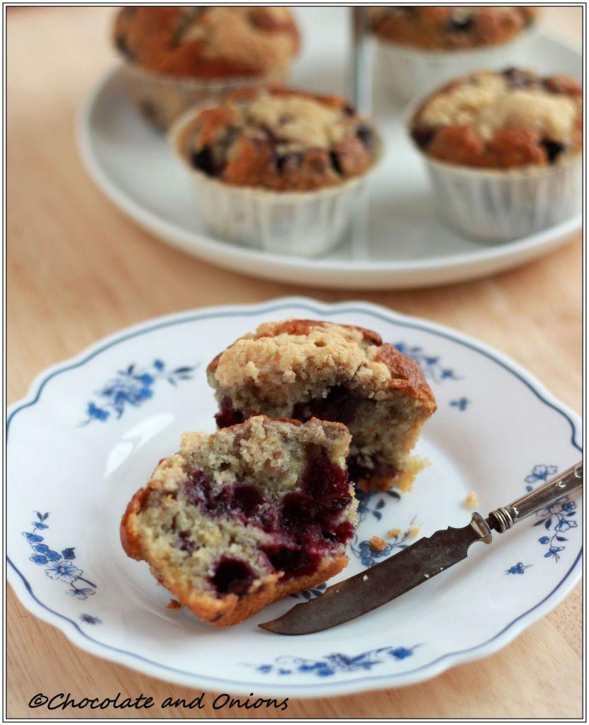 Blaubeer Muffins I
