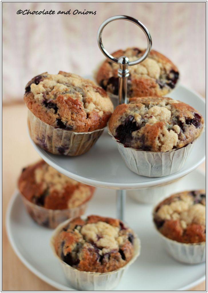 Blaubeer Muffins II