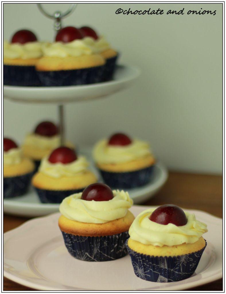 Pflaumen-Cupcakes I