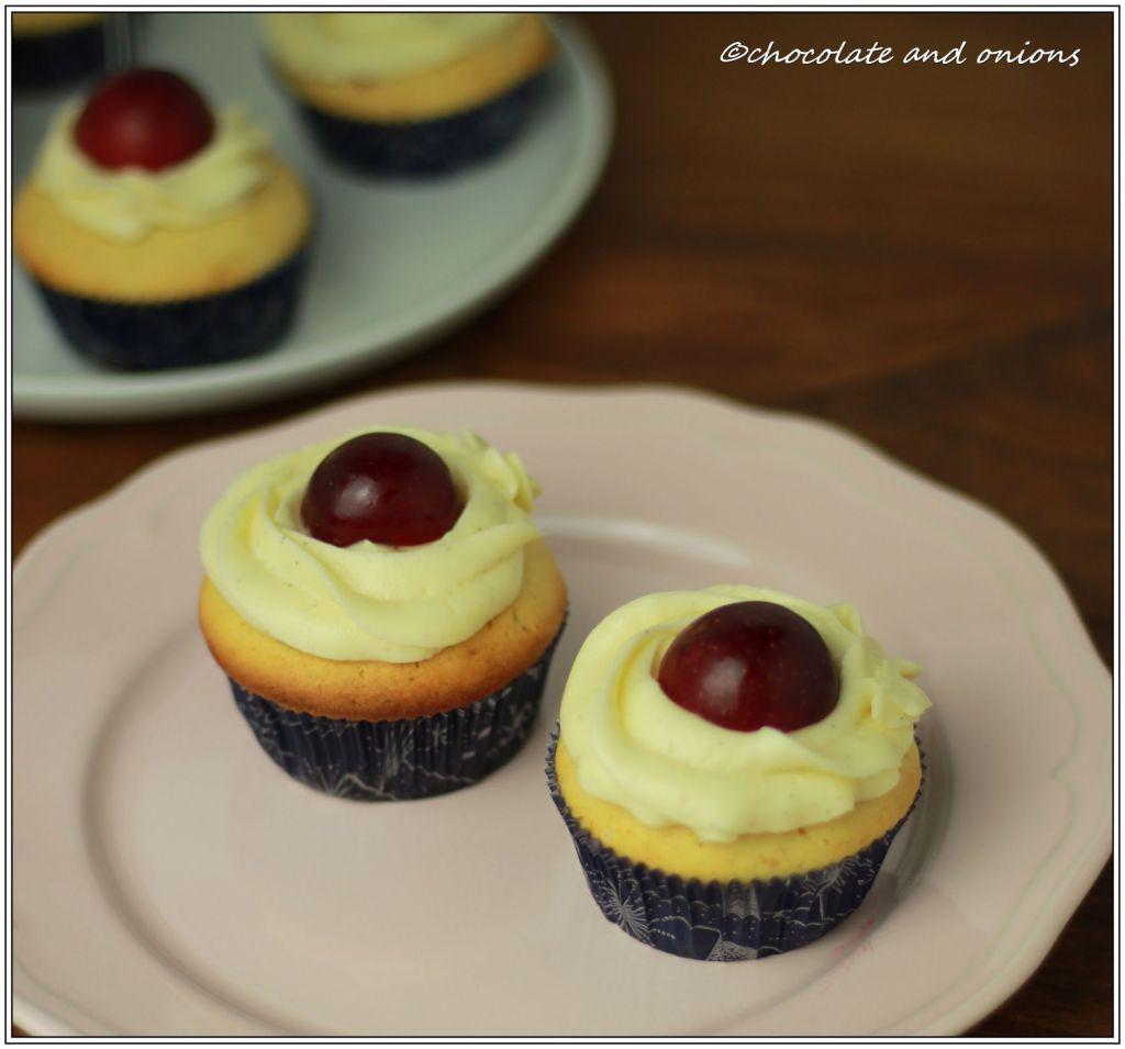 Pflaumen-Cupcakes II