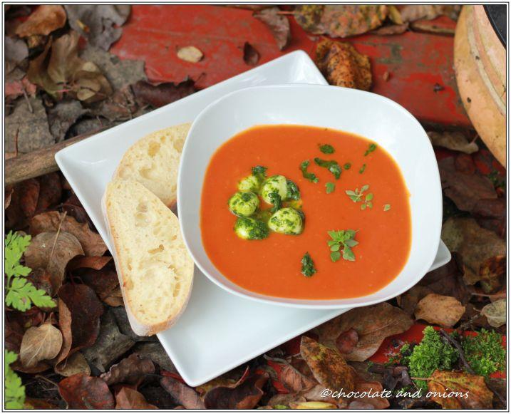 Tomaten-Orangen-Suppe II