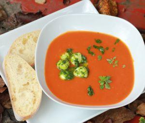 Tomaten-Orangen-Suppe III
