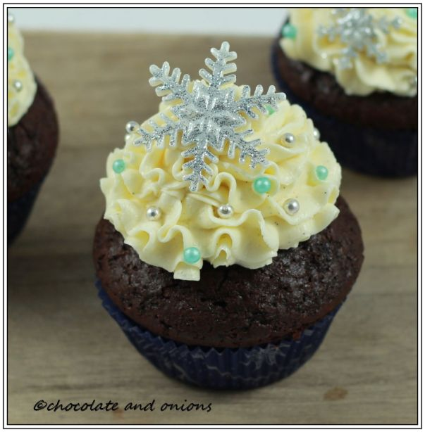Winter Wonderland Cupcakes III