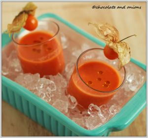 Tomaten Melonen Suppe II