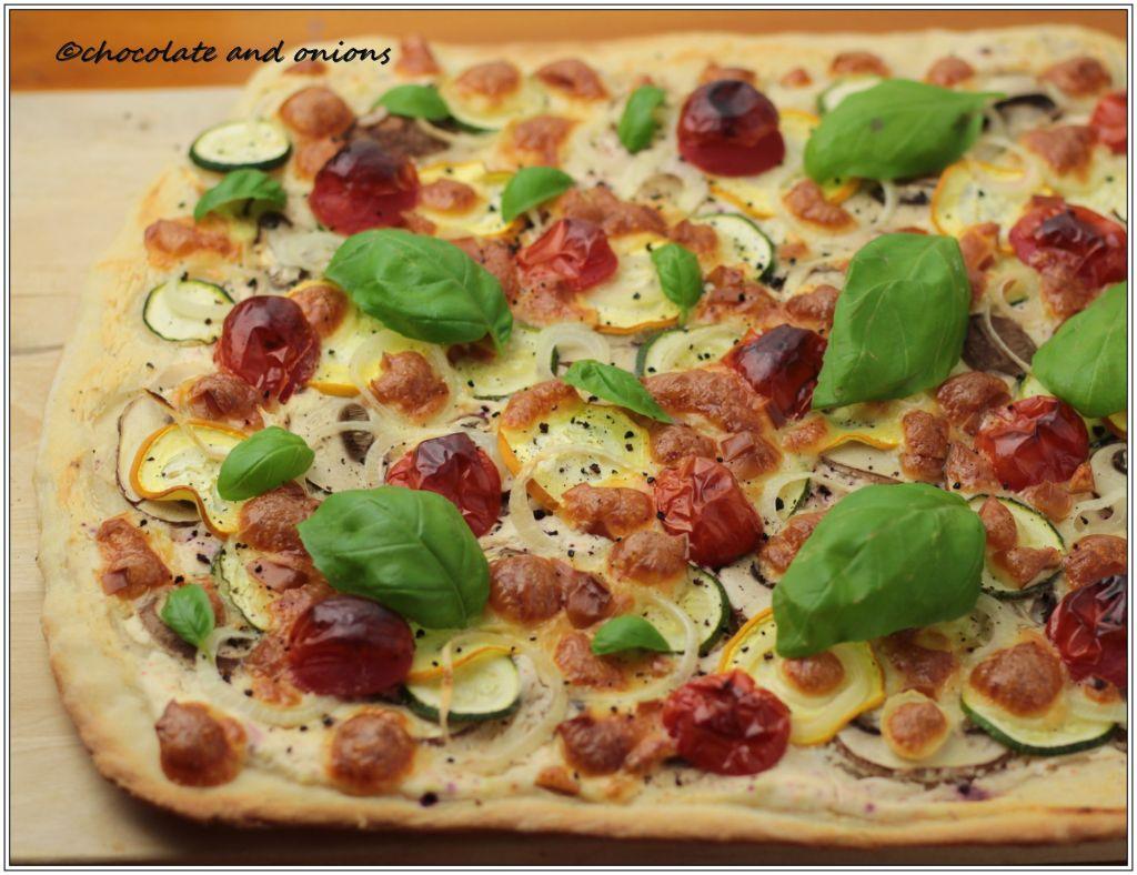 Vegetarische Pizza I