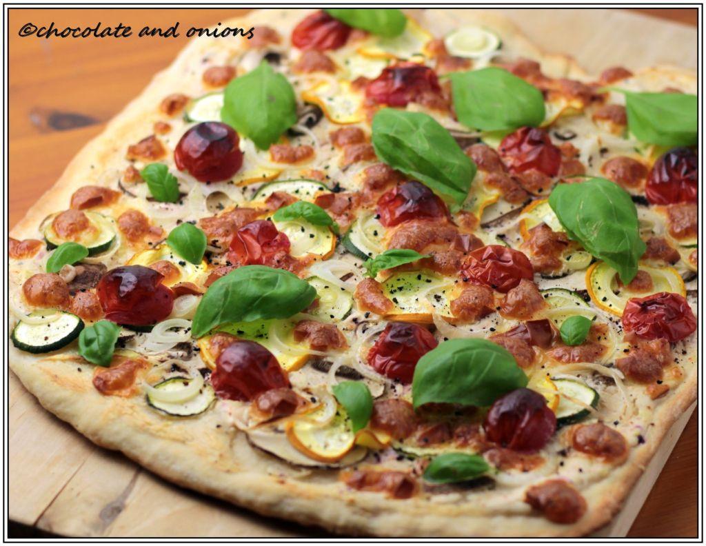 Vegetarische Pizza II