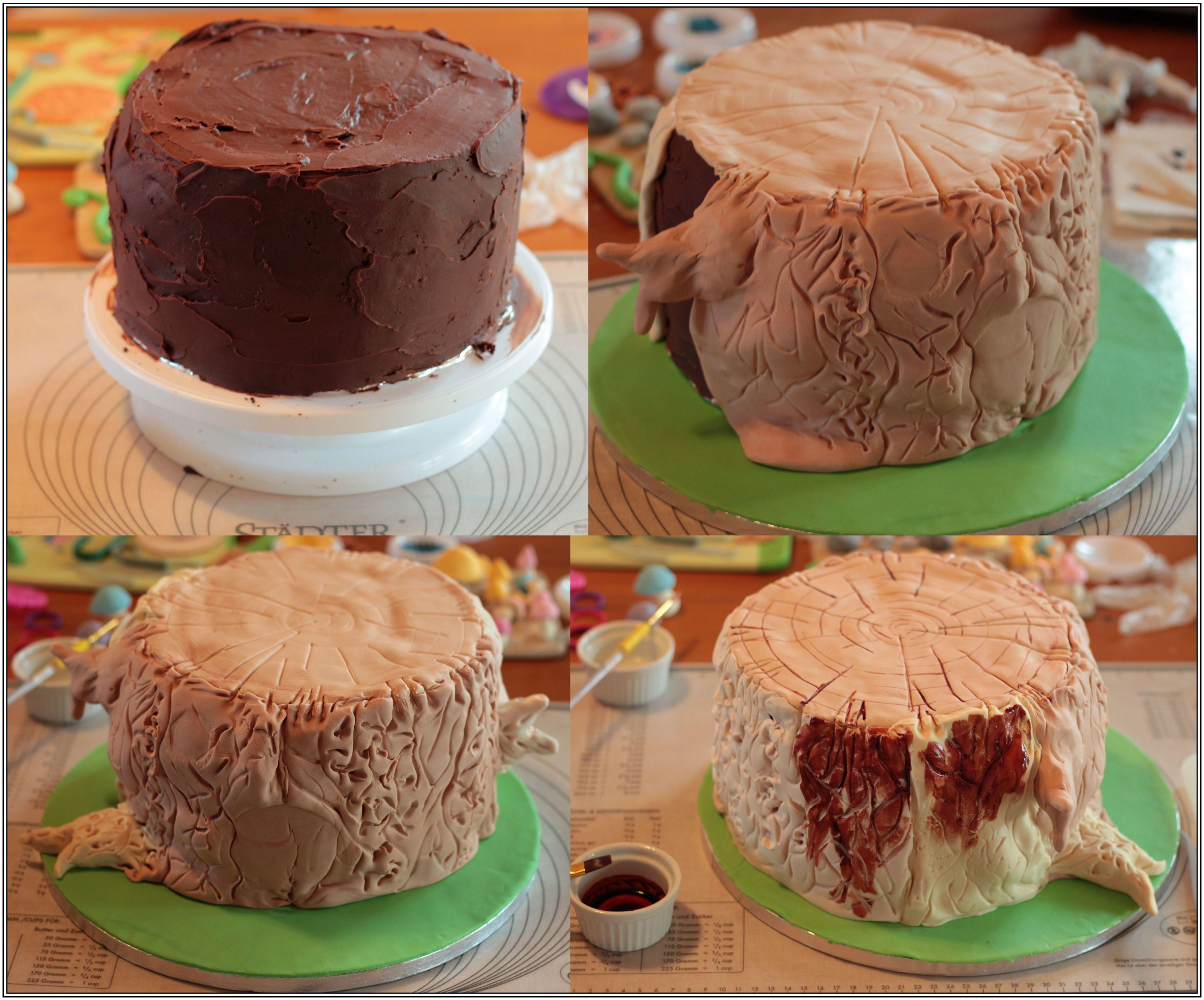 Baby Party Kuchen Der Wald Ruft Baby Shower Woodland Theme Cake